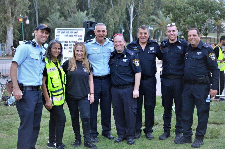 יום קהילה ומשטרה בשיתוף כוחות הביטחון וההצלה