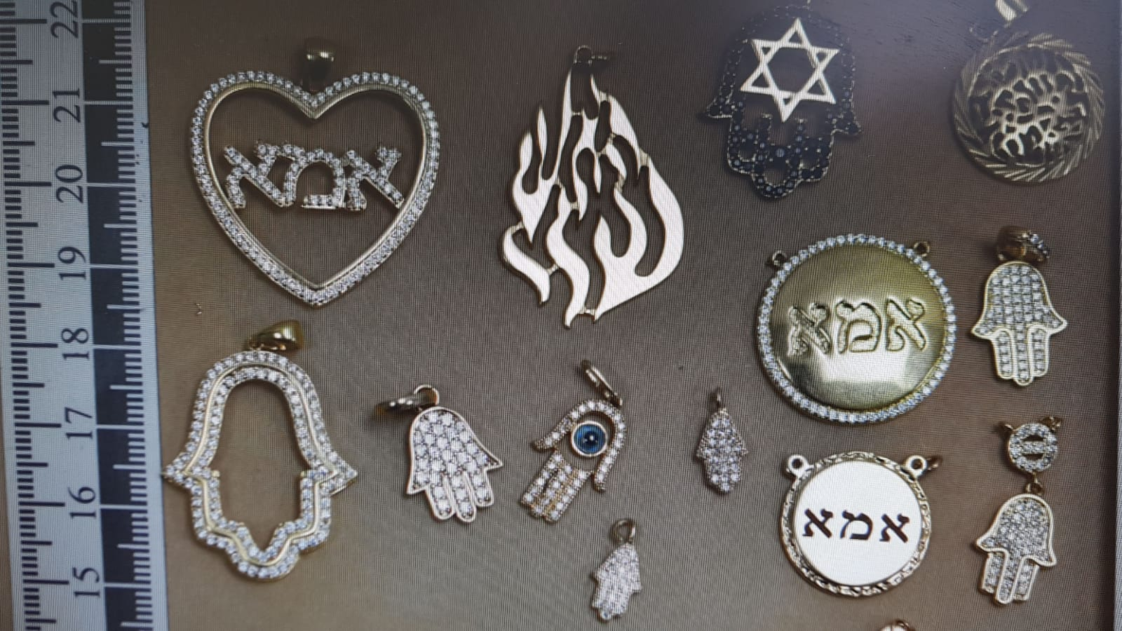 תפיסה של תכשיטים בקניון רמת גן