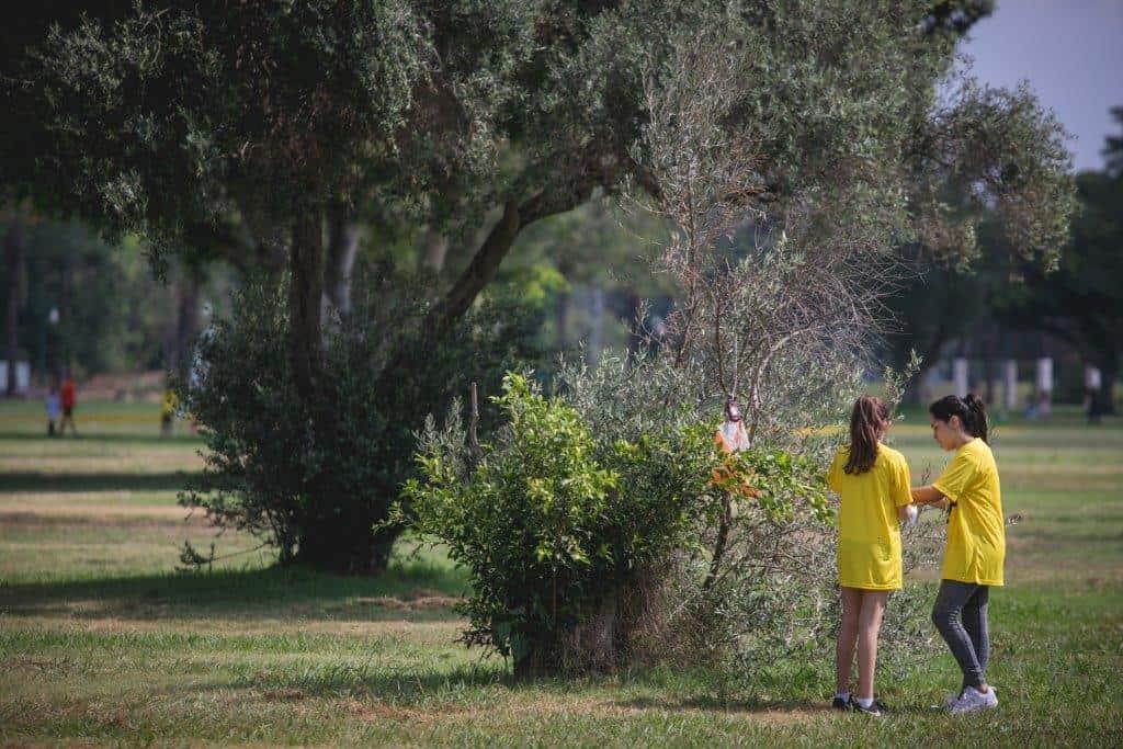 הניווט המסורתי לזכר זיו בלאלי, צילומים באדיבות עיריית רמת גן