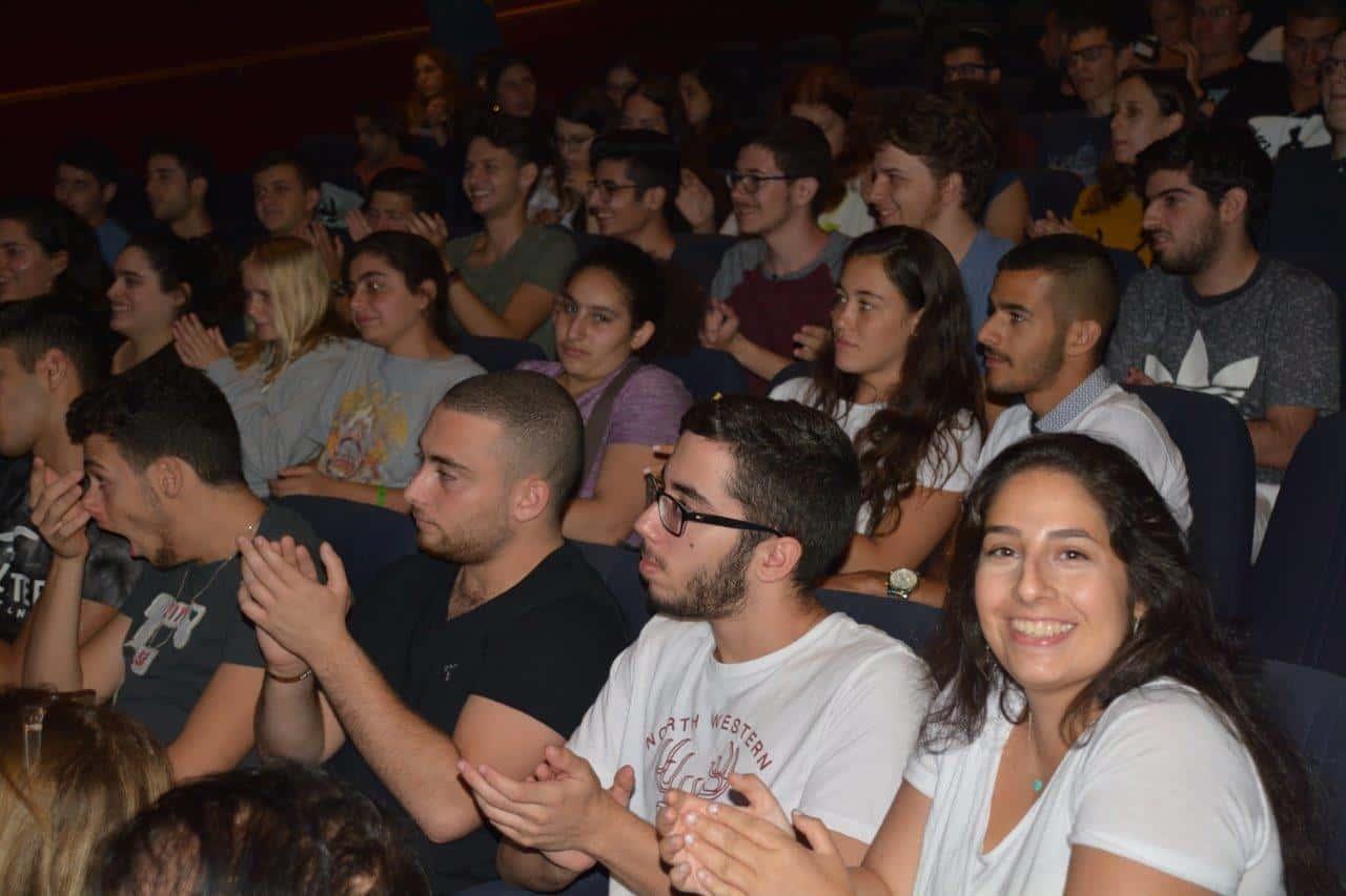 כנס מתגייסים בתיאטרון גבעתיים, צילום: באדיבות העירייה