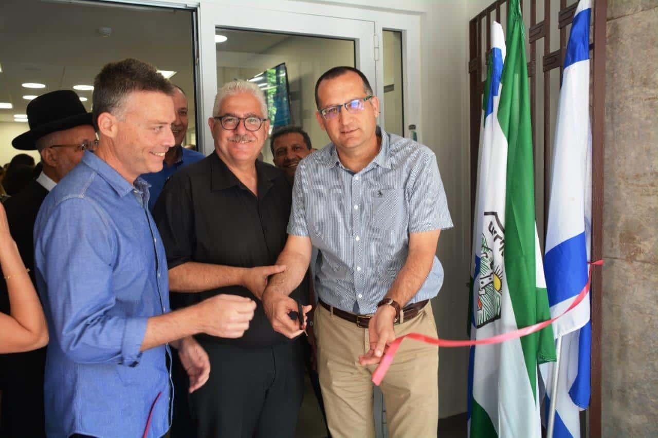 ראש עיריית גבעתיים רן קוניק בטקס הפתיחה, צילום: באדיבות דוברות עיריית גבעתיים