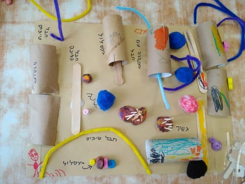 תוכנית ממקלות של ארטיק, צילום: באדיבות דוברות עיריית רמת גן