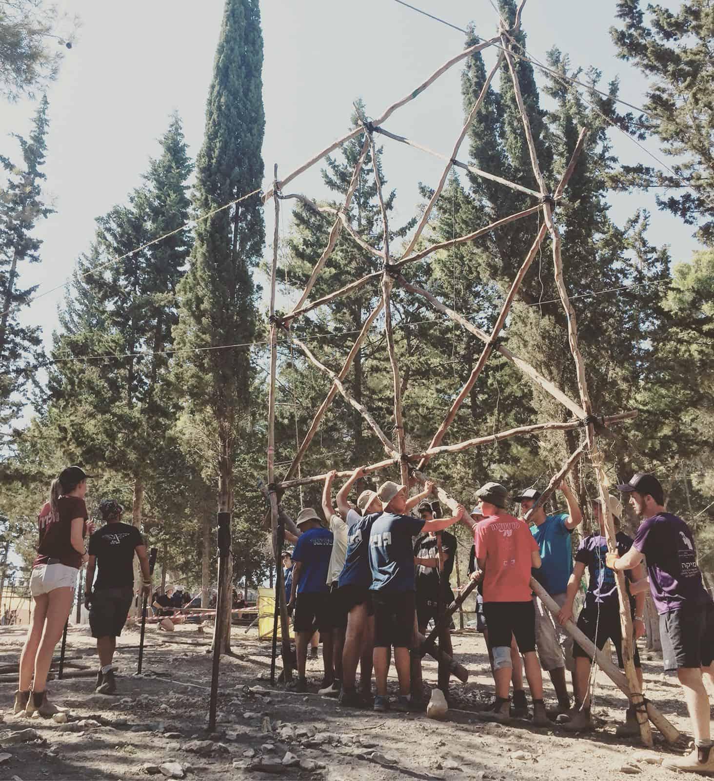 מחנה הקיץ ביער עופר, צילום: באדיבות ההורים