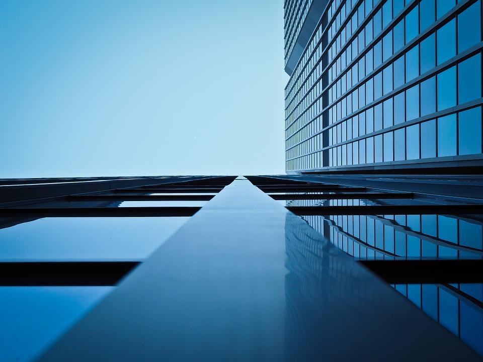 בניין משרדים. אילוסטרציה