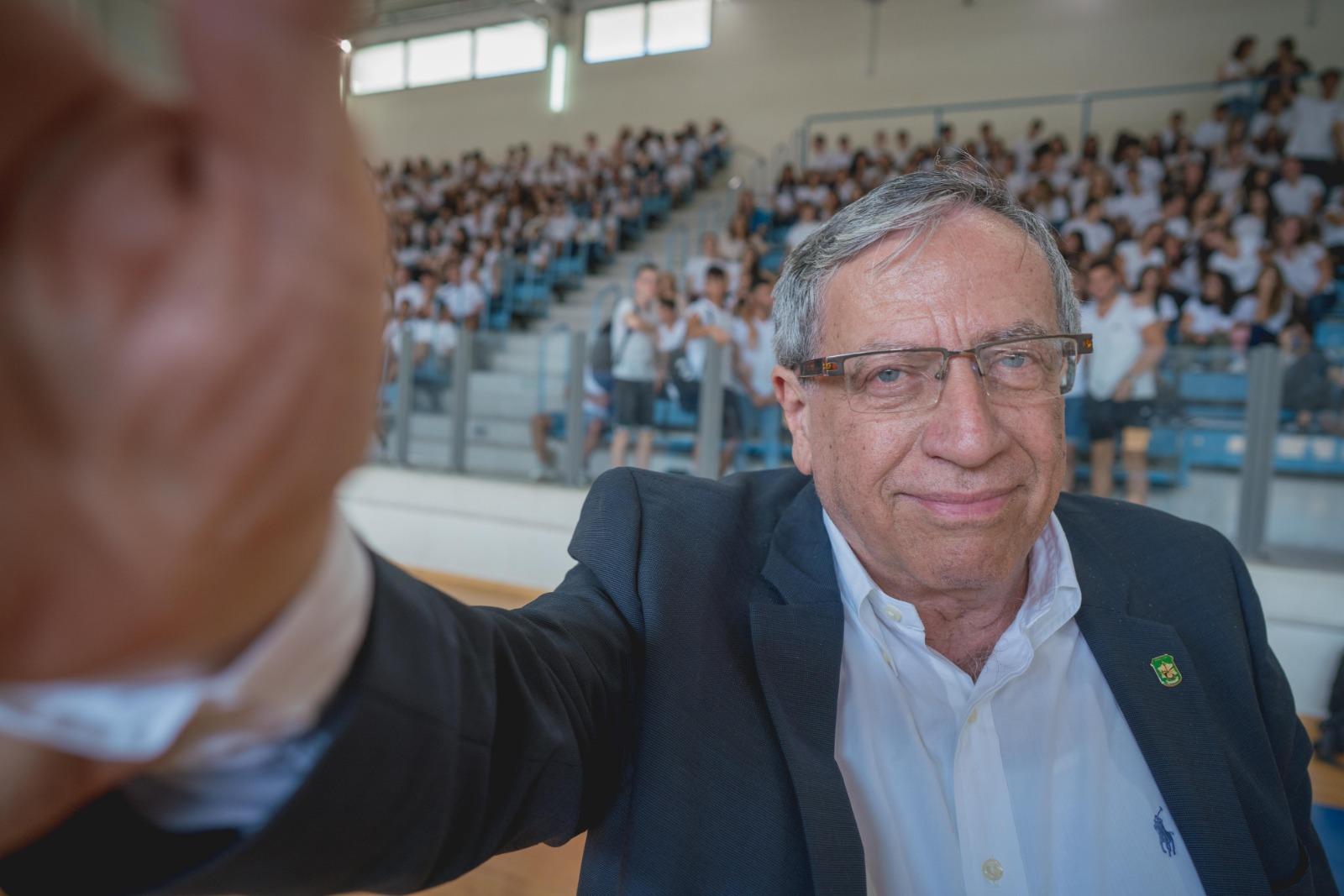 ראש עיריית רמת-גן בגן שקד בנווה יהושע