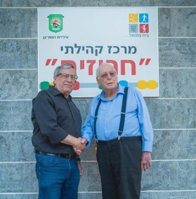 ראש עיריית רמת-גן וחבר המועצה ומחזיק תיק האזרחים הוותיקים איצה שחם