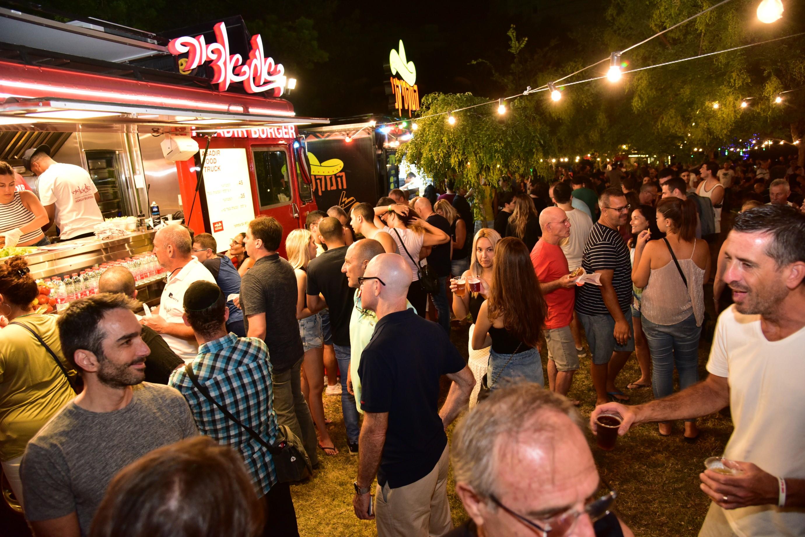 פסטיבל הבירה בגבעתיים. תמונות: יח''צ
