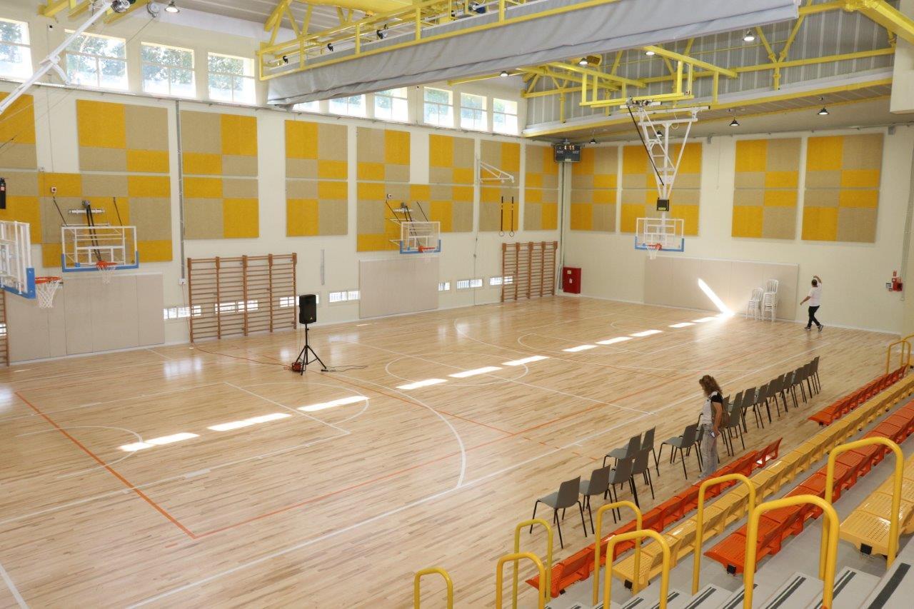 אולם הספורט בבית ספר ויצמן