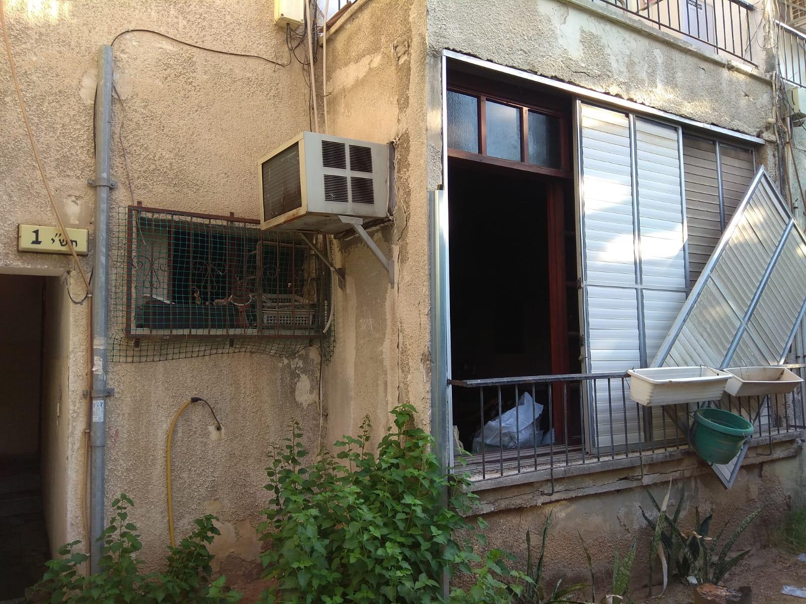 שריפה בבניין המגורים ברמת גן