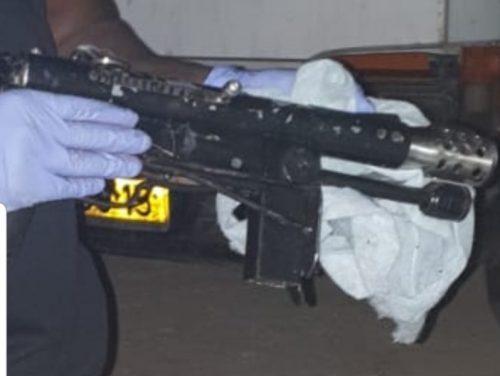 רובה נתפס באתר בנייה ברמת גן