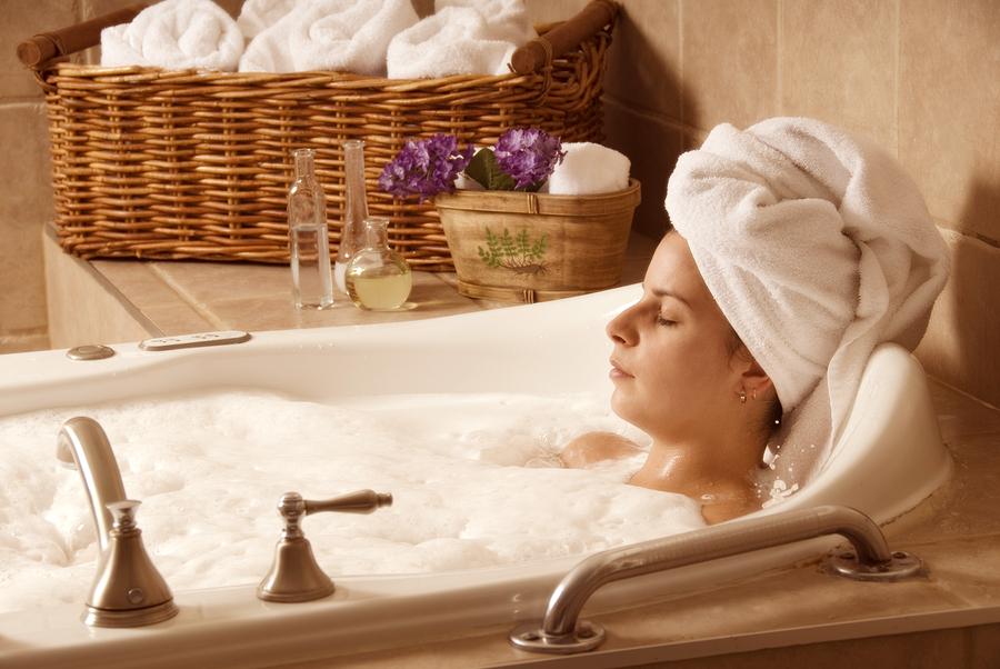אמבט מפנק להחזרת הלחות