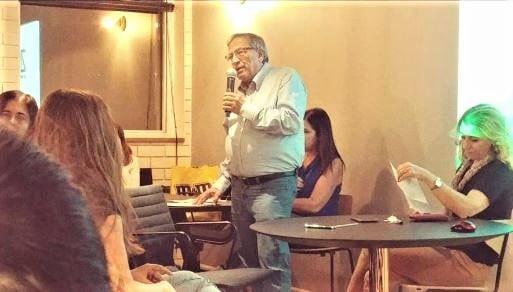 ראש עיריית רמת-גן באירוע פתיחת התכנית. צילום: באדיבות עיריית רמת-גן