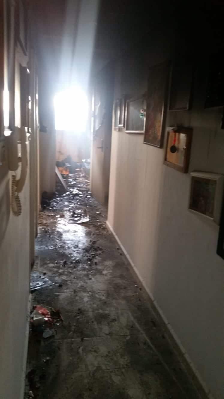 ביתו של יקיר העיר נשרף כליל