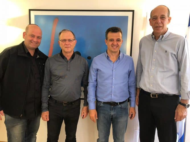 ראש העיר רמת גן באוניברסיטת בר אילן