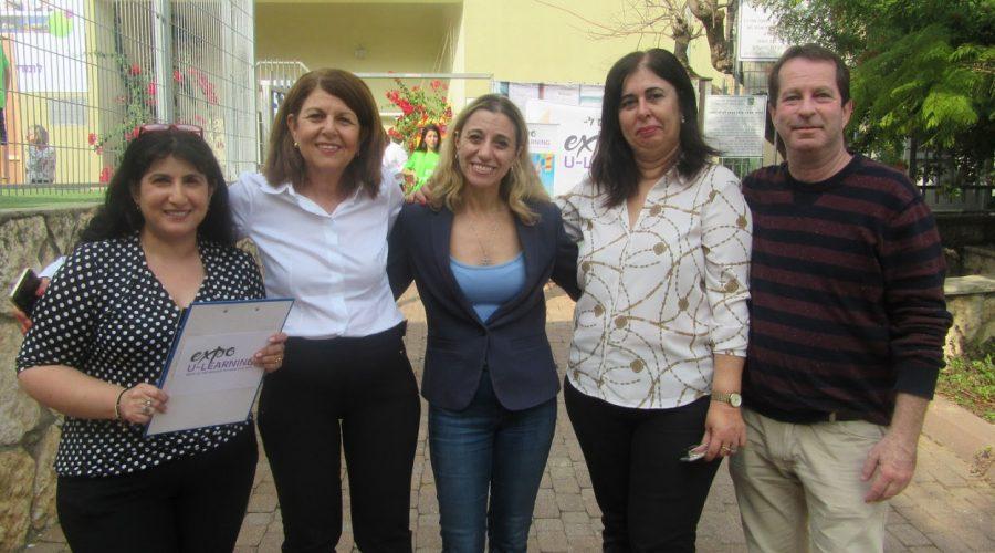 פרס חינוך לבית ספר המנחיל ברמת גן