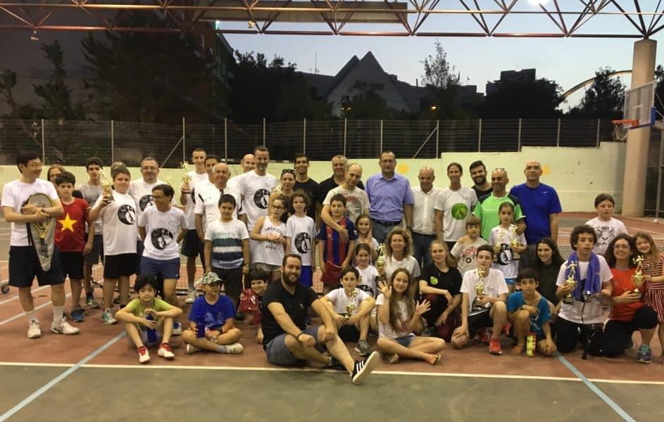 גבעתיים: טניס משפחות 2018
