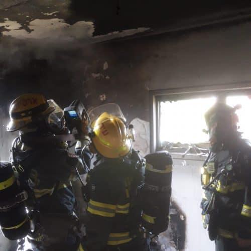 שריפה בדירה ברמת גן