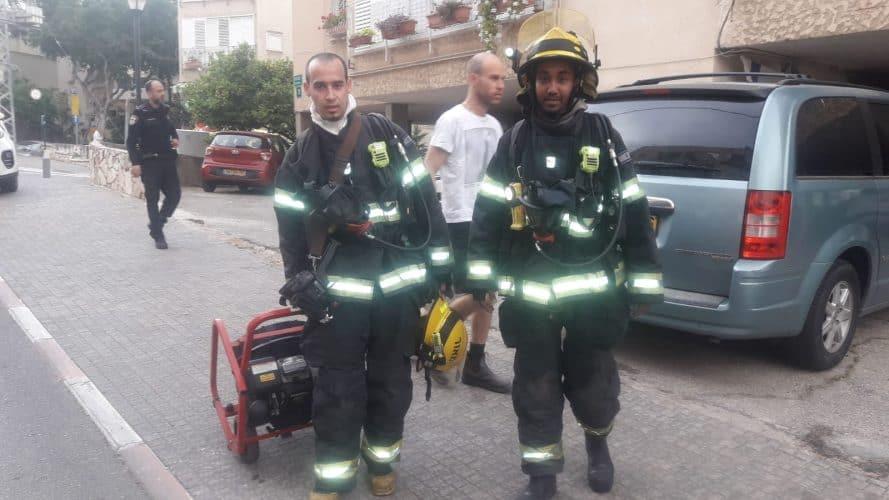 ניצולת שואה חולצה משריפה בדירה בגבעתיים