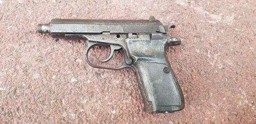 תפיסת אקדח ברמת גן
