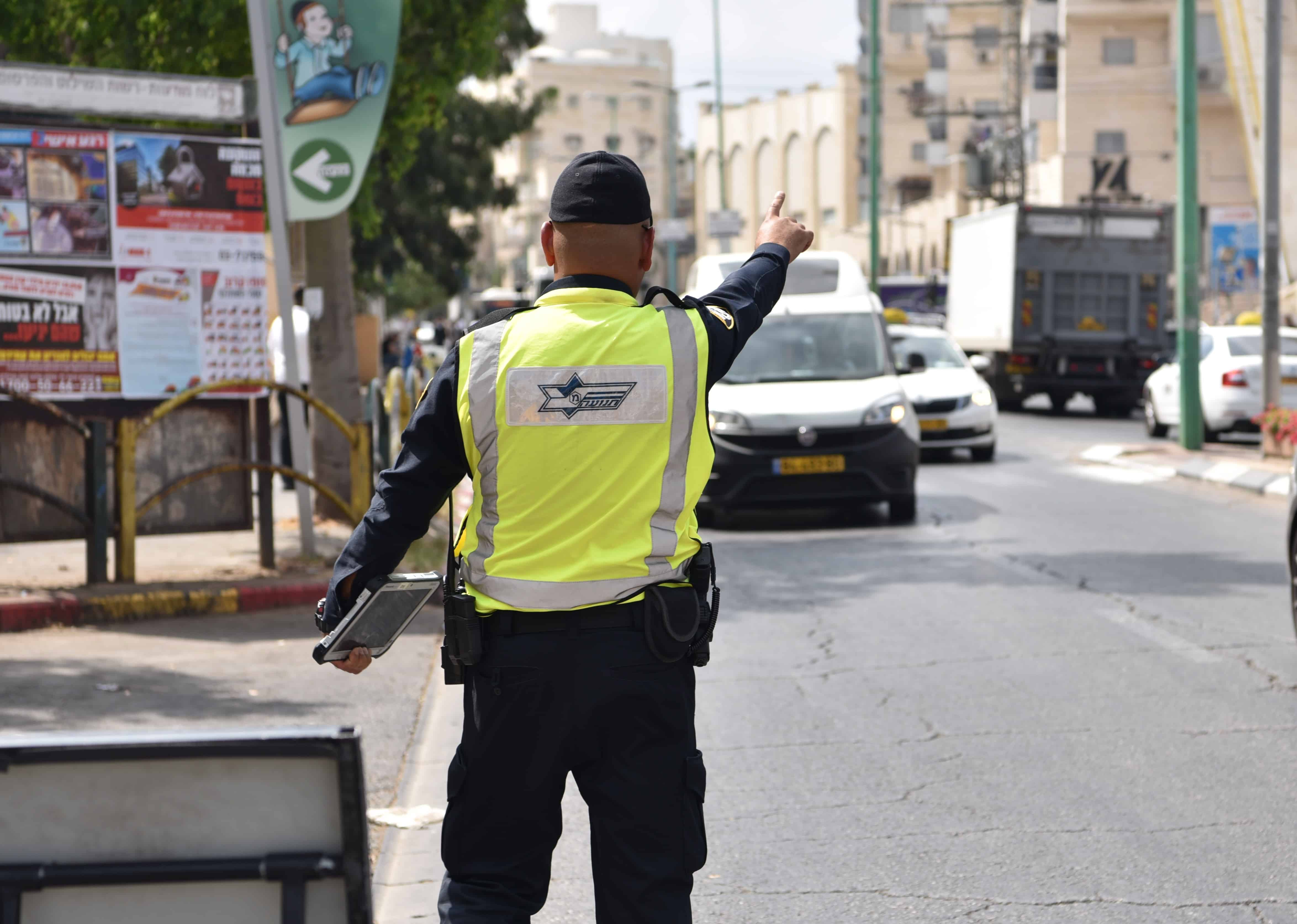 מבצע רכבי הסעות צילום משטרה