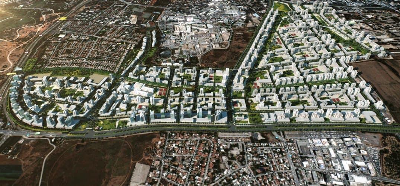השכונה החדשה במזרח רמת גן