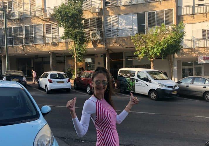 יפעת ויינשטוק ברחוב נגבה 7