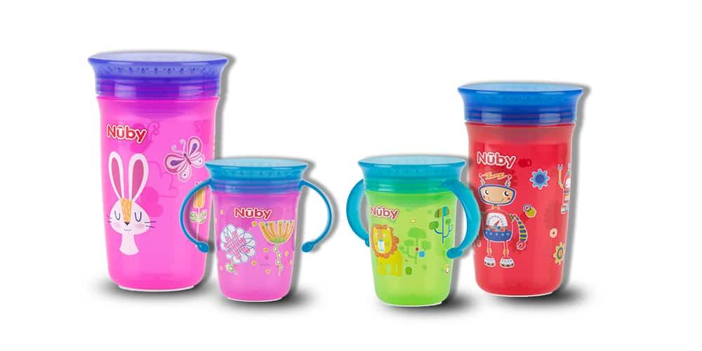 כוס הפלא 360 Nuby לילדים