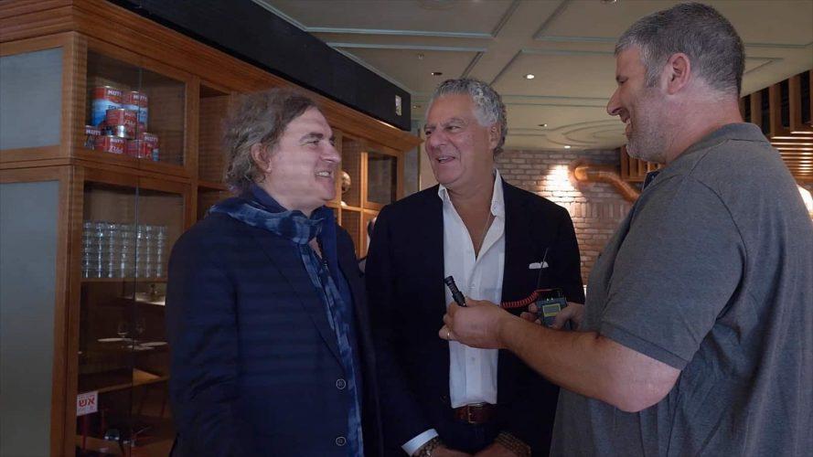 ויטוריו ופביו, זכו לדבר עם פיס. צילום: דניס צייטלין
