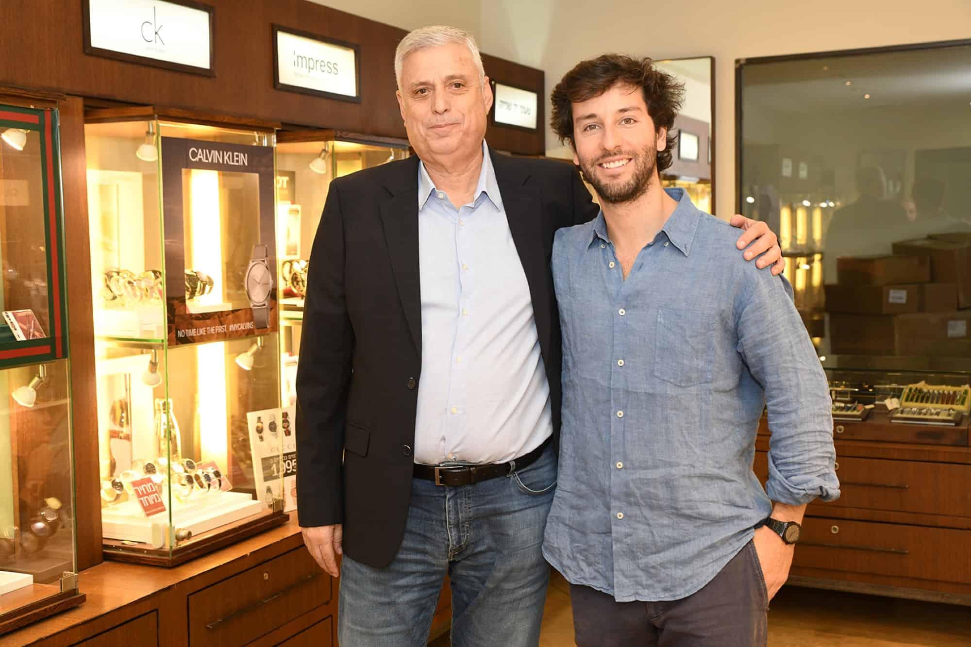 מימין לשמאל: דאריו ספלונה ודודו פולטורק. צילום: אלעד גוטמן