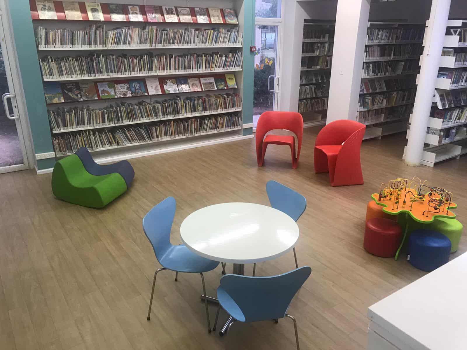 שדרוג ספרייה ביד לבנים