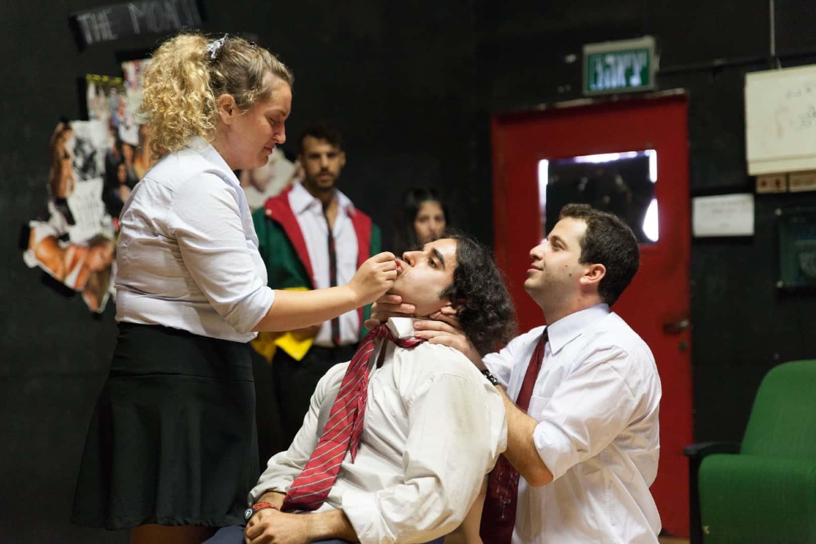 המחזה בבית צבי צילום מירב דרור