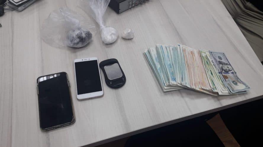 הסמים שנתפסו בדירה