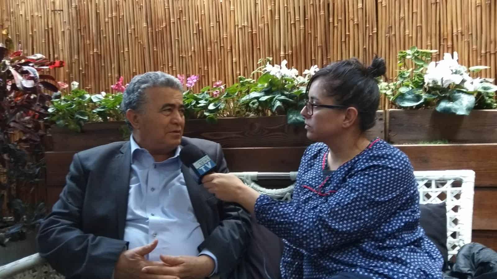 עמיר פרץ בראיון לרמת גן ניוז