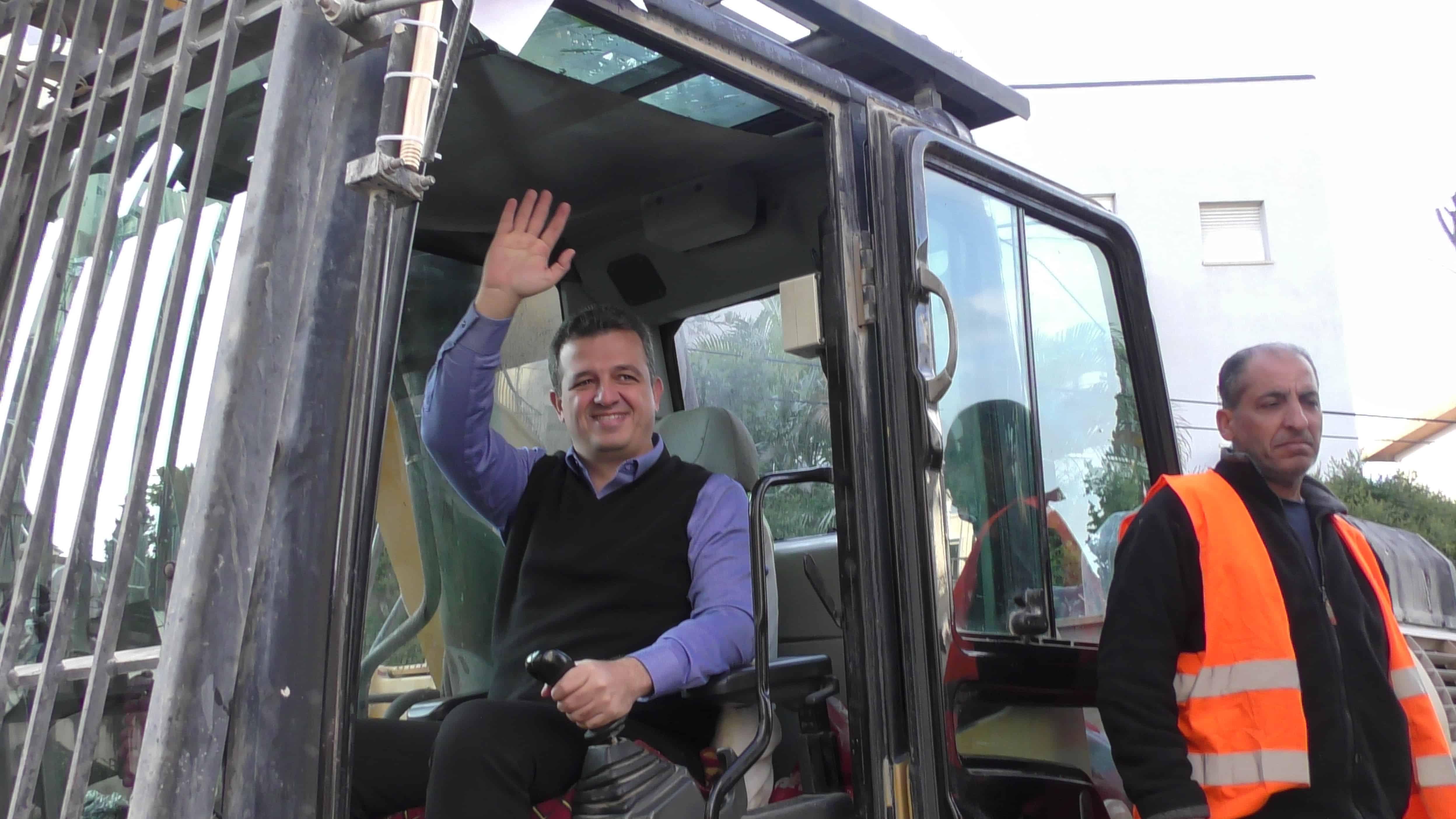 ראש עיריית רמת גן. כרמל שאמה