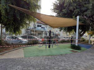 חיטוי וניקוי גינות ברמת גן. צילום: עיריית רמת גן