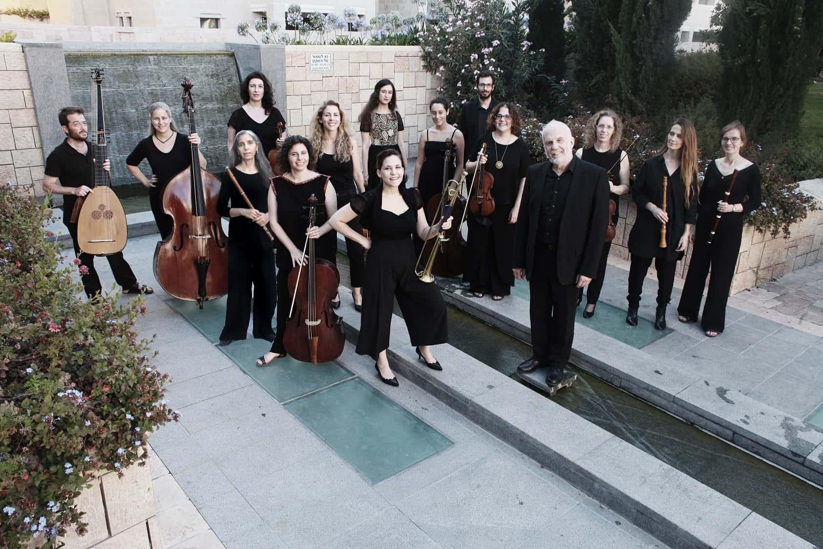 תזמורת הבארוק ירושלים צילום rustam baeramov