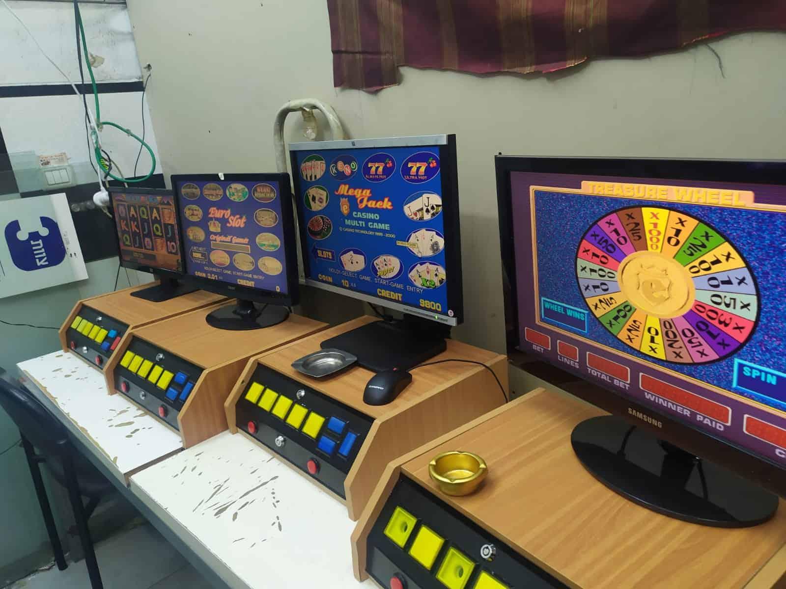 מכונות הימורים צילום משטרה