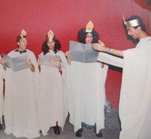 קבוצת ספירלה בהופעה. צילום: נטלי פורטי