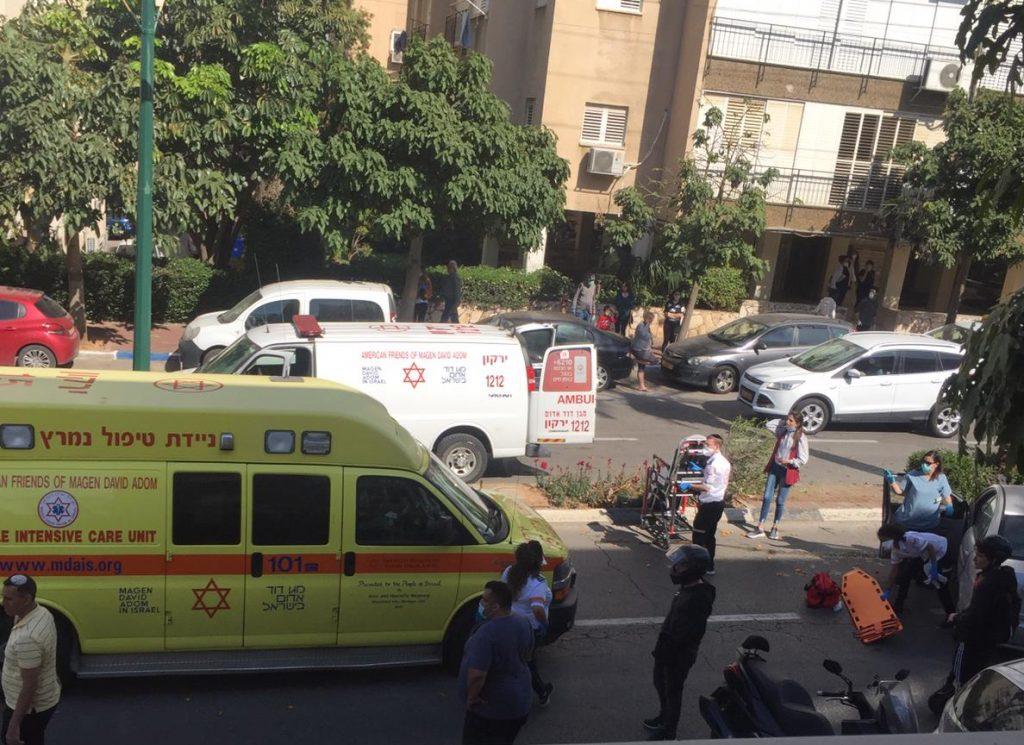 אילוסטרציה. תאונה ברחוב הירדן ברמת גן. צילום: רמת גן גבעתיים ניוז