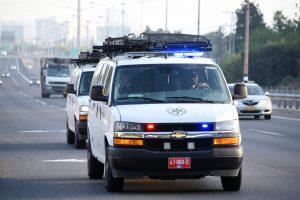 משטרה בבני ברק. צילום משטרה