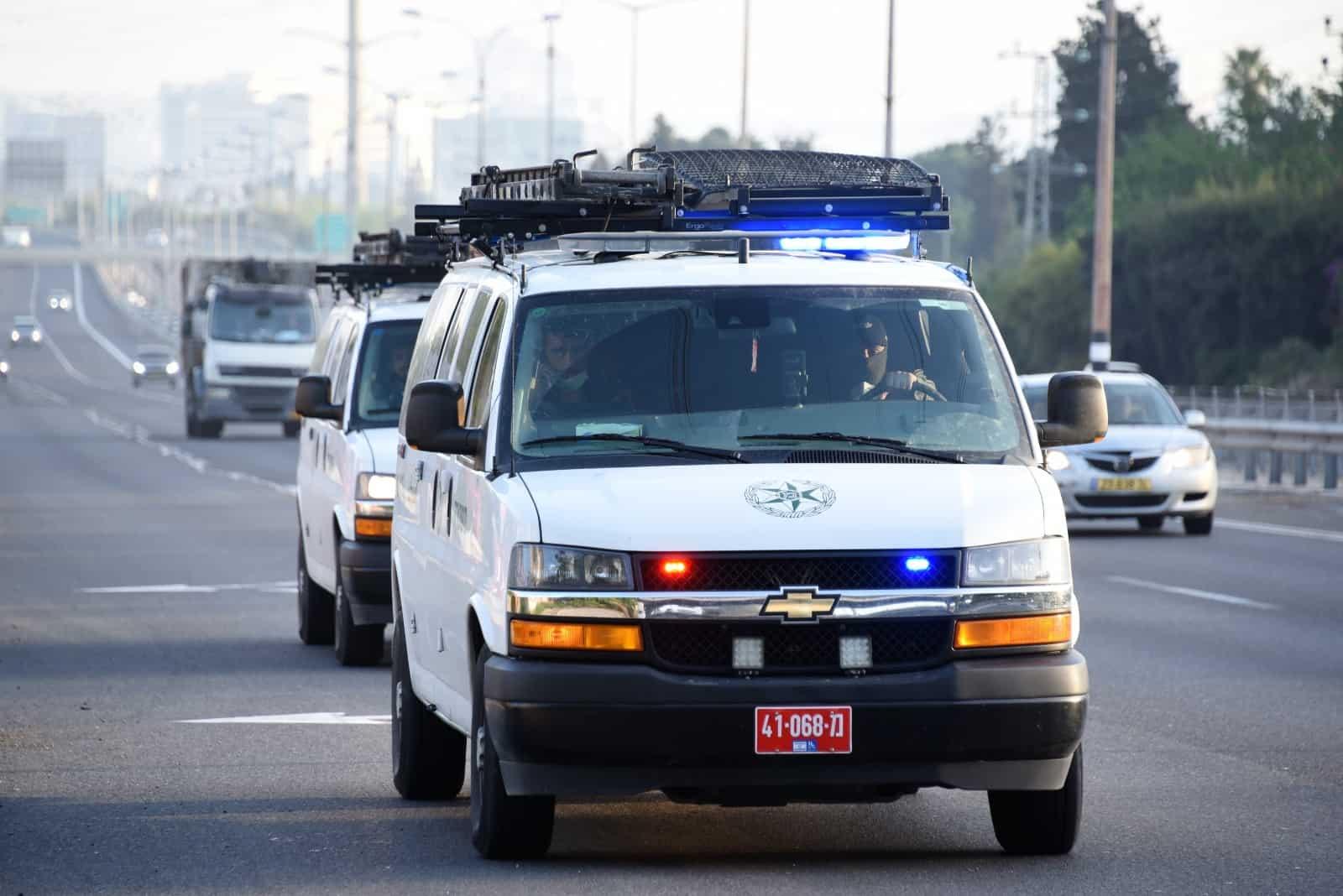 ניידת משטרה. צילום: משטרה