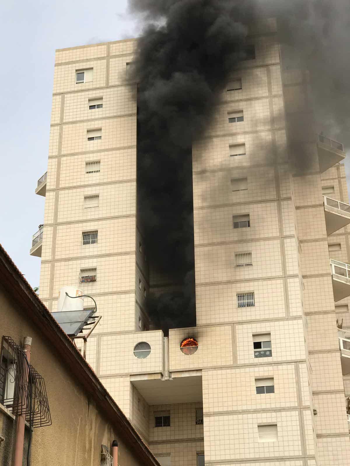 שריפה ברימלא צילום כיבוי והצלה