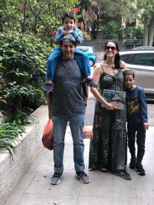המשפחה של ישראל זינגר. צילום פרטי