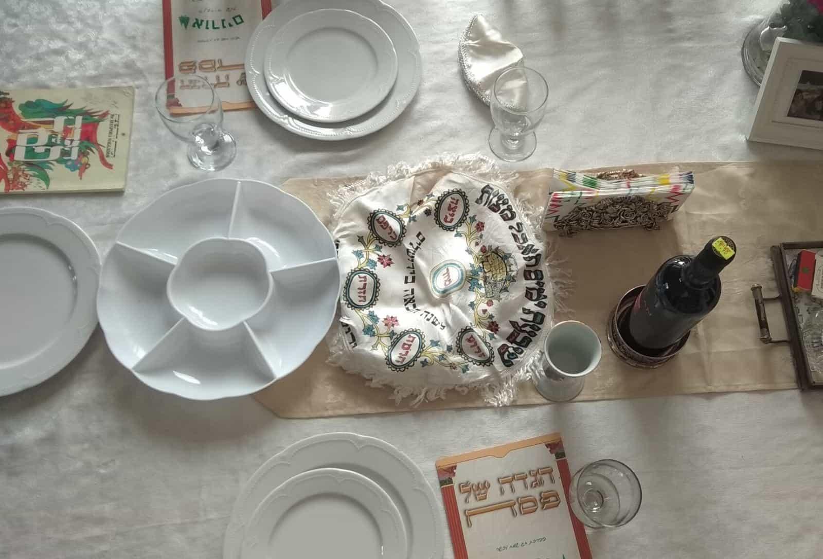 שולחן פסח צילום רג ניוז