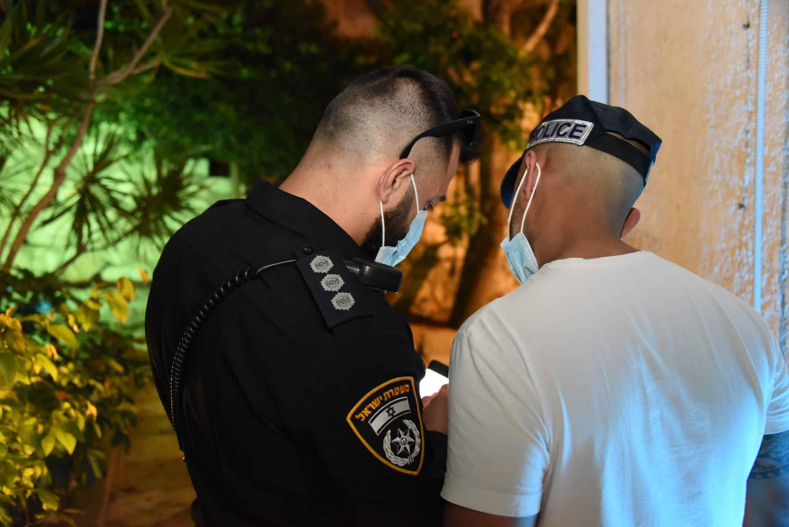 חקירת משטרה. צילום: משטרת ישראל