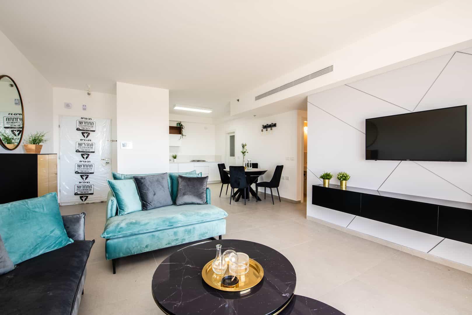 דירת 5 חדרים לדוגמא בפרויקט קריניצי החדשה צילום בן רוטשטיין