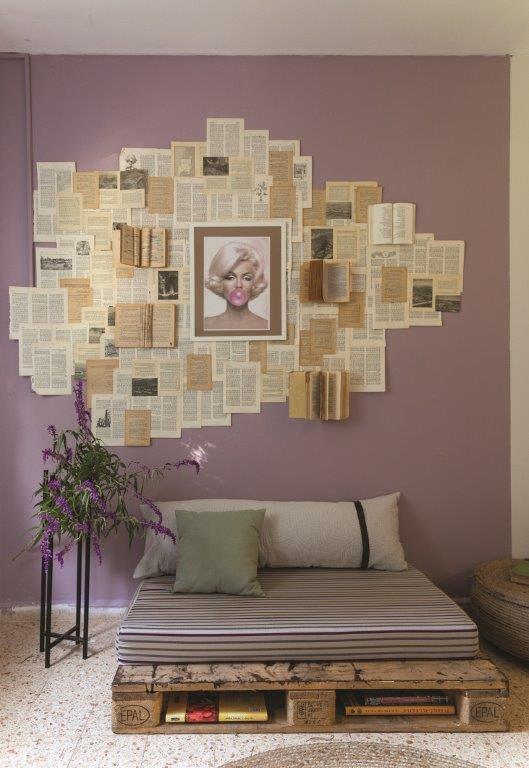 חדר בסגנון כפרי רומנטי- מתוך ספרה של מירי בלבול חדר משלהם- הלבשה ענבל מיכאלי ודליה נסאר צילום- נויה שילוני חביב (3)