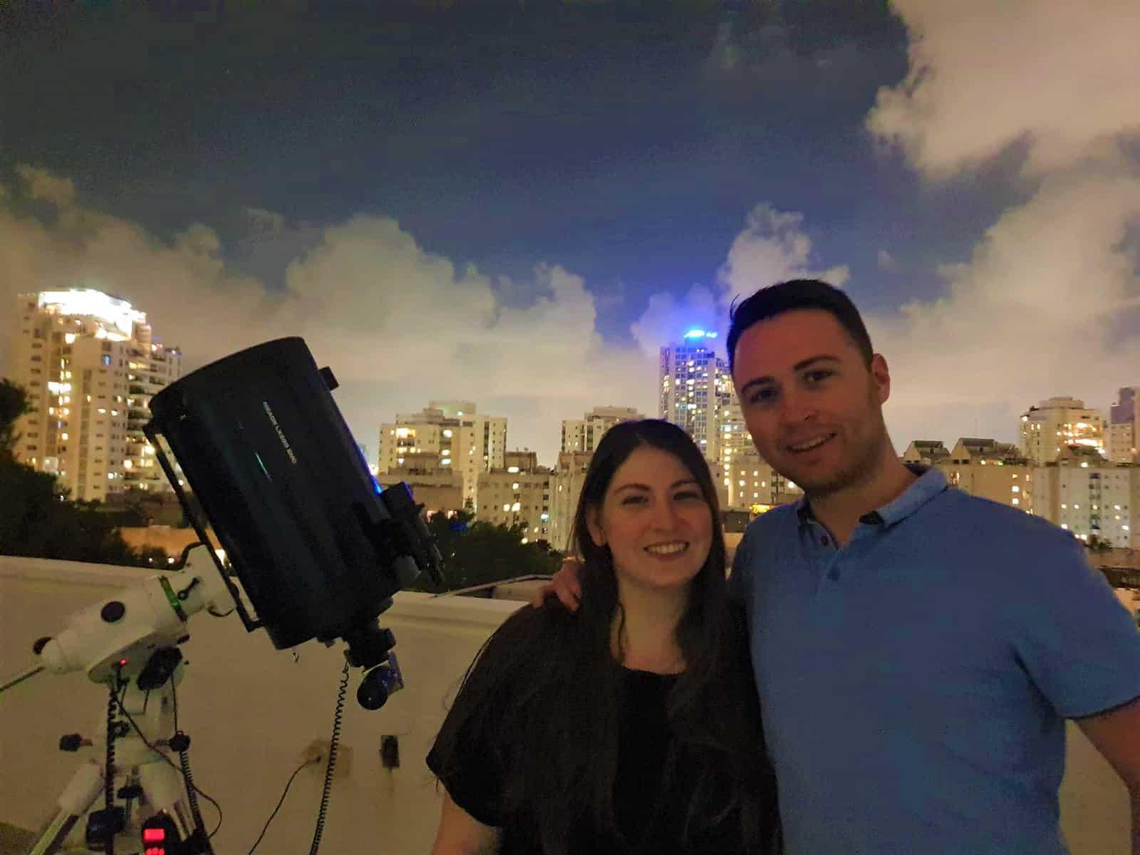 הצעת הנישואין במצפה הכוכבים