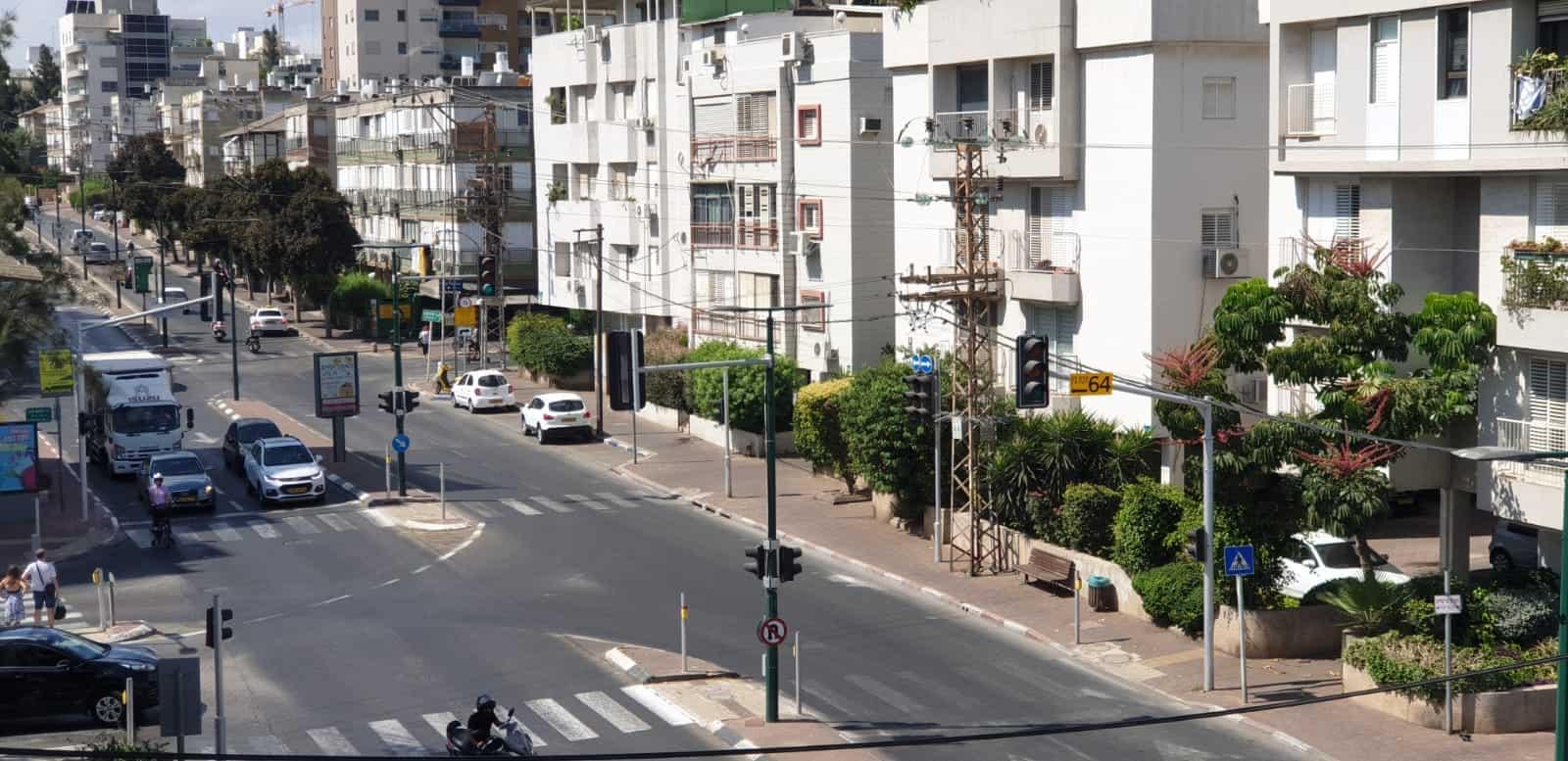 רחוב בן גוריון ברמת גן. צילום: מערכת האתר