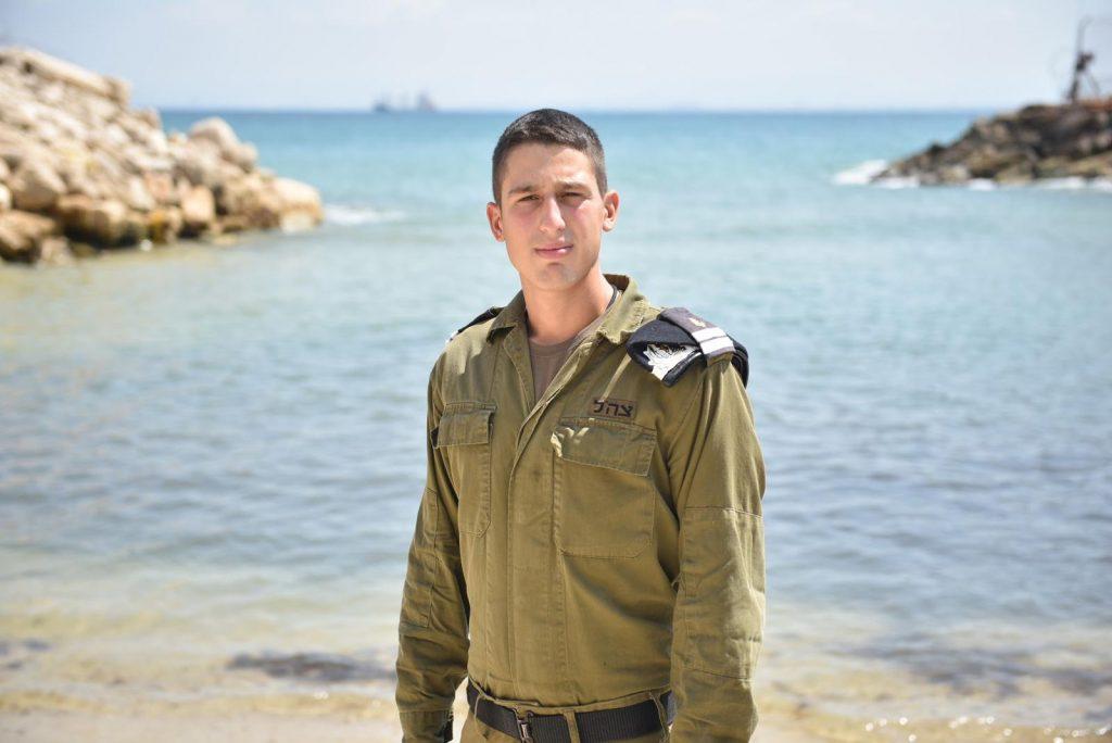 סגן תום גלעדי (צילום: דובר צה